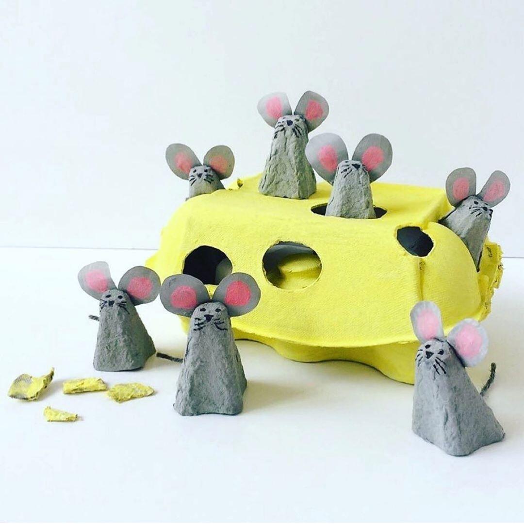 Wie Upcycling Vom Eierkarton Funktionie Kidscraft - Kids Crafts