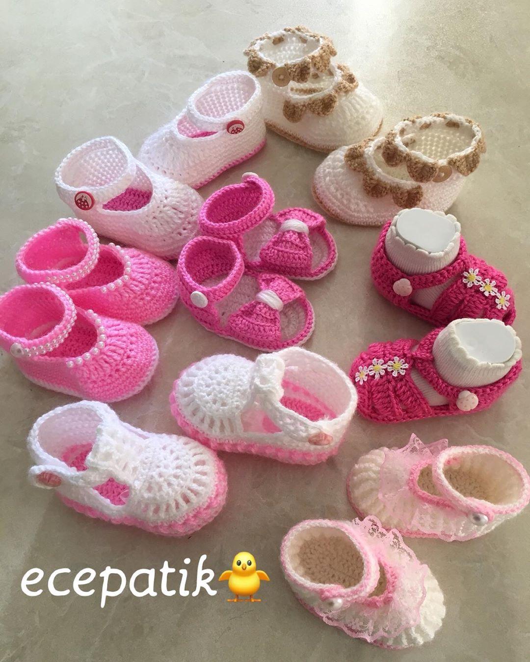 Mutlu Pazarlar🙋🏻♀️💕❤️ 🌸💦 💦🌸 Sipa Bebekyeleği - Baby Crochet