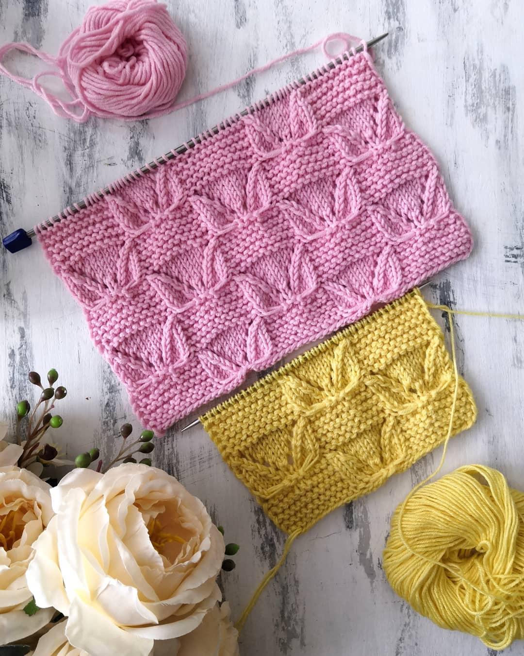 Ажурно-Рельефный Узор Спицами Для Вязани Ажурныйузорспицами - Knitting Tutorial