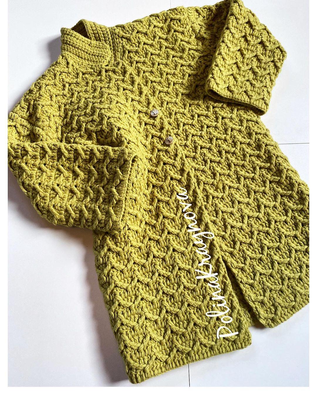 Что Происходит На Свете? — А Просто Чума Пальто - Crochet Cardigan