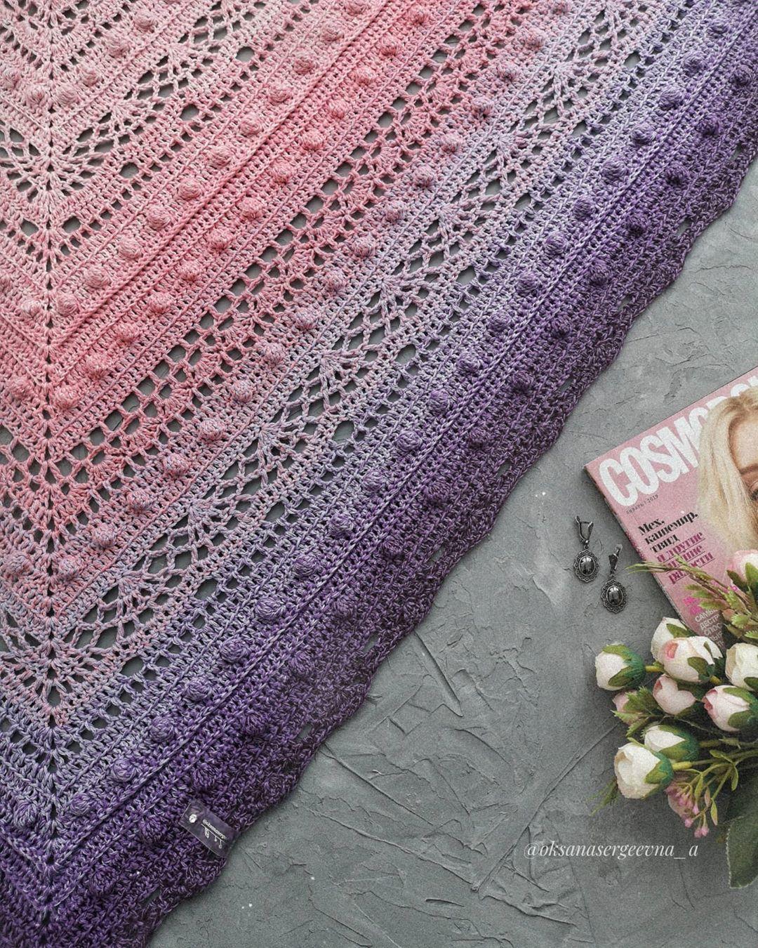 Улыбаемся И Вяжем! . Человека, Который - Crochet Shawl