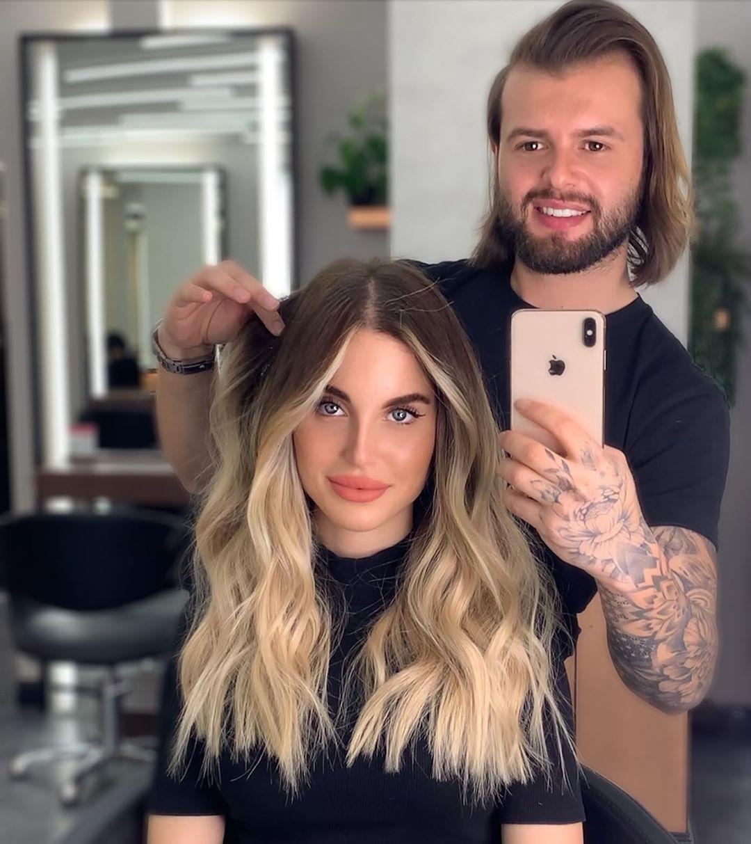 Blonde Hair By Me 🤩 . . . Orkunbaykut Hairgoals - Hair Video