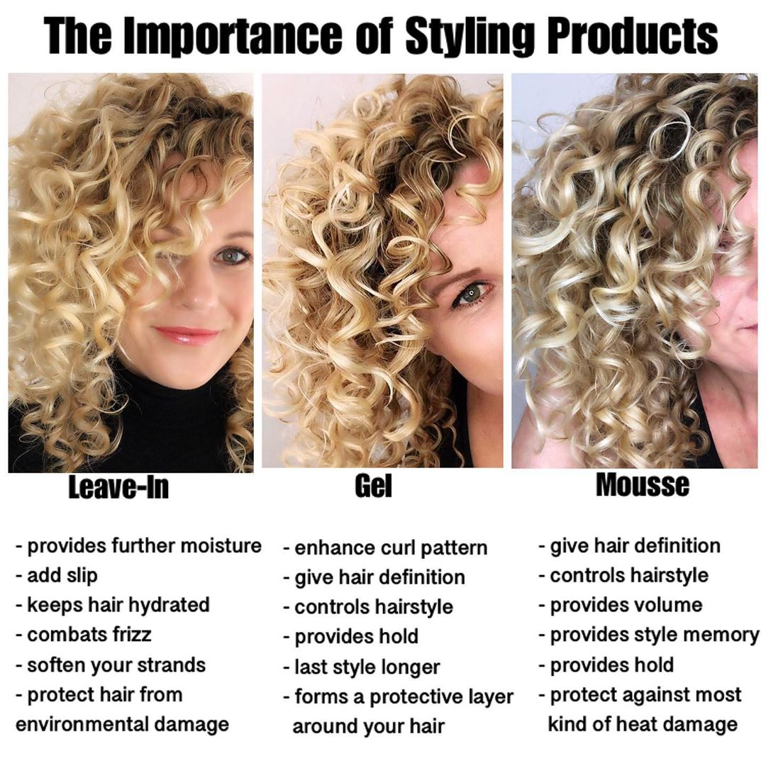 Do I Need To Use Styling Products? ⤵️  - Tips And Tricks
