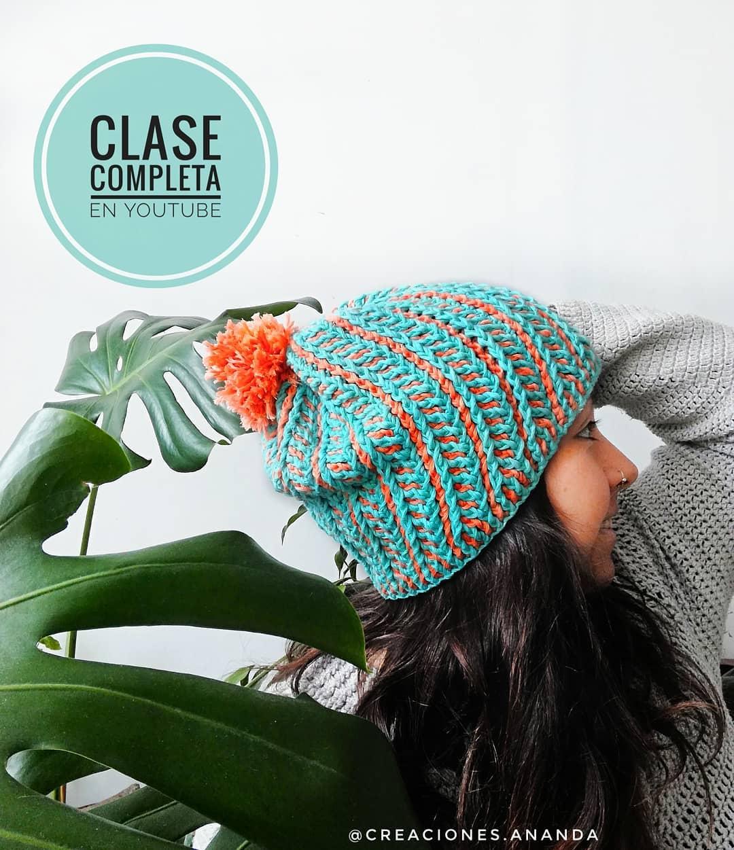 Clase Completa En Mi Canal De Youtube Pa Crochethat - Crochet Hat