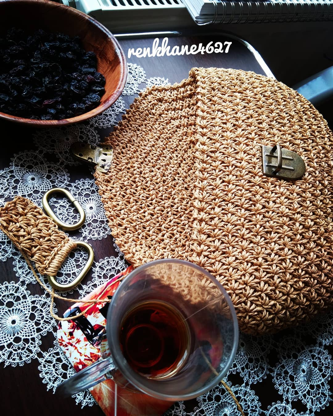 🌷 İlk Kursiyerlerimi Mezun Ettim Sayılı Handbags - Knitting Bag