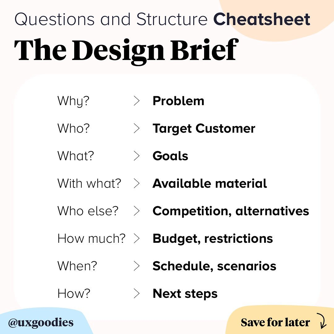 🌟 I Use This Cheatsheet On My Design Pr Uxgoodies - Tips And Tricks