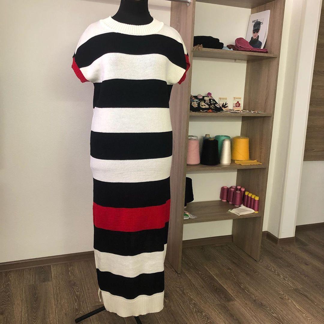 Нереально Красивое Платье ! Я В Него Влю Knitwear - Knit Dress
