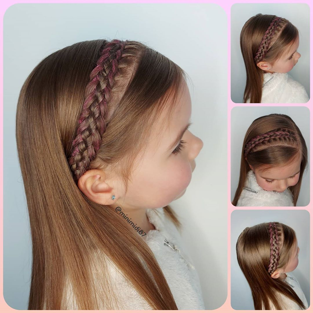 ~ 5Strand Headband Braid ~ ~ ~ ~ Minimi Toddlerhairstyles - Hairstyles For Girls