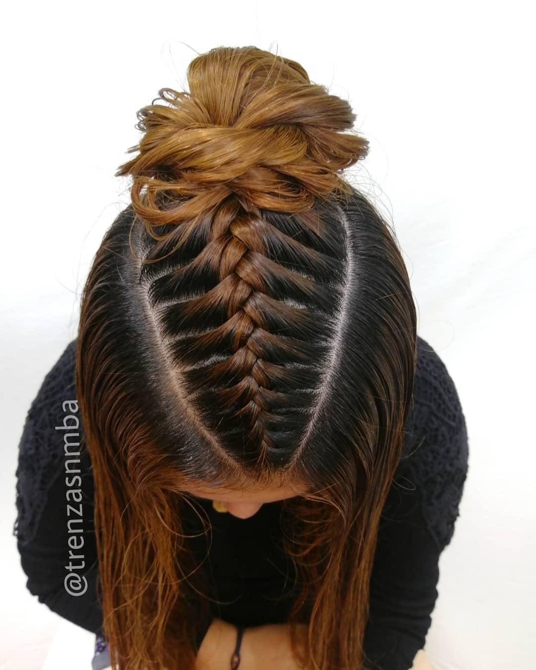 Hola Nuestro Estilo De Hoy ♥️🌹 Hermosa Hairstylesforgirls - Hairstyles For Girls