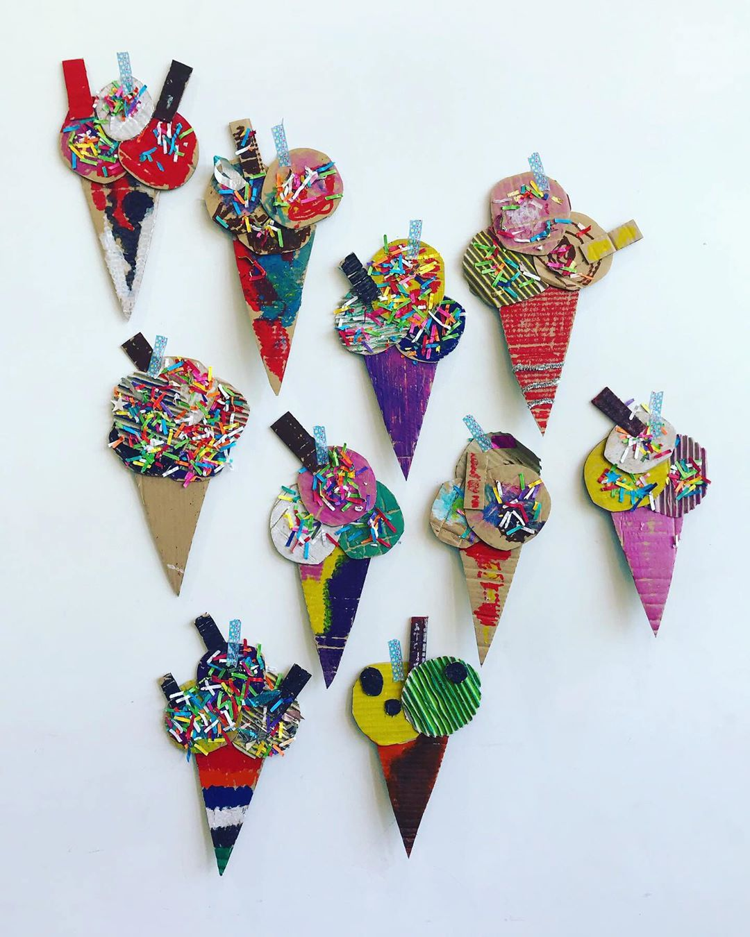 We Wanted To Join In With Get.Creative. Cardboardart - Kids Crafts