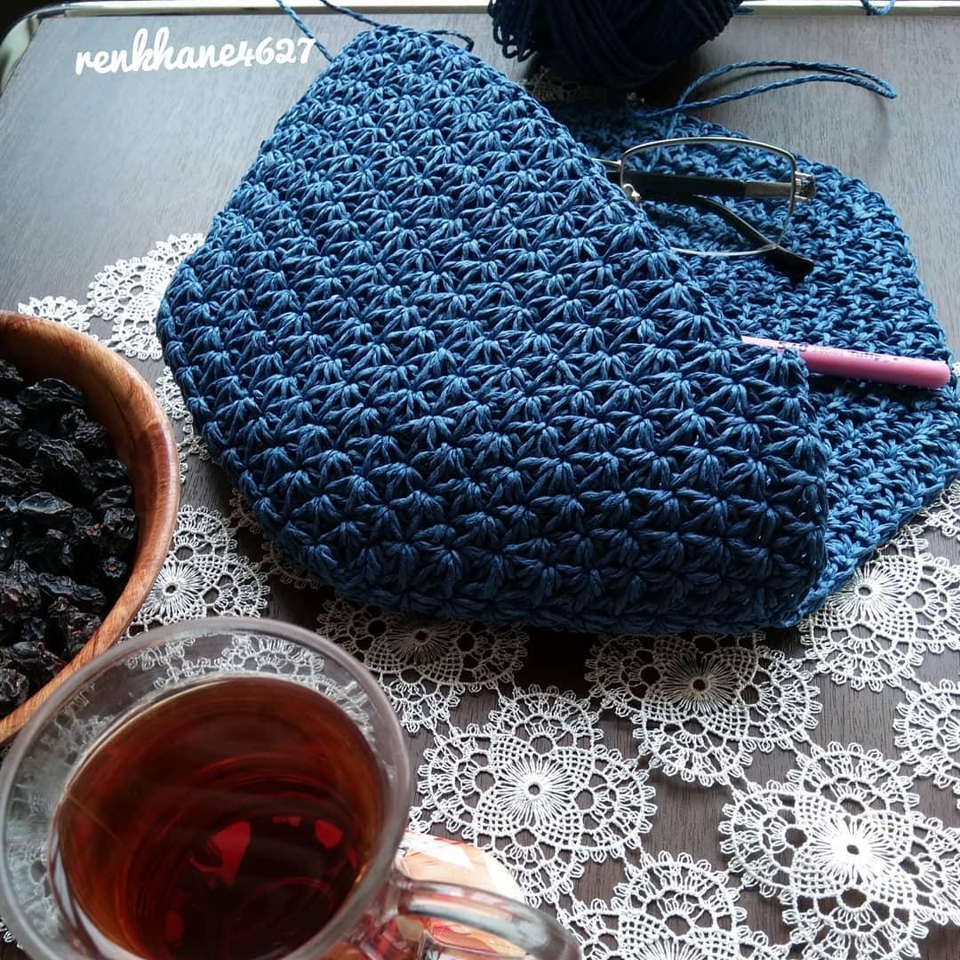 🌷Koronalı Günlerde Hobisine Daha Çok Sa Handbags - Knitting Bag