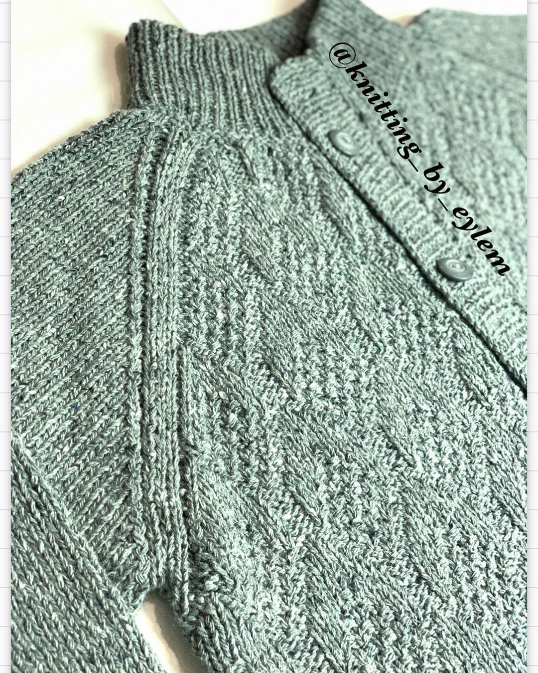 Muhteşem Bir Tüvit Iple, Muhteşem Bir Er Knit - Baby Knitting