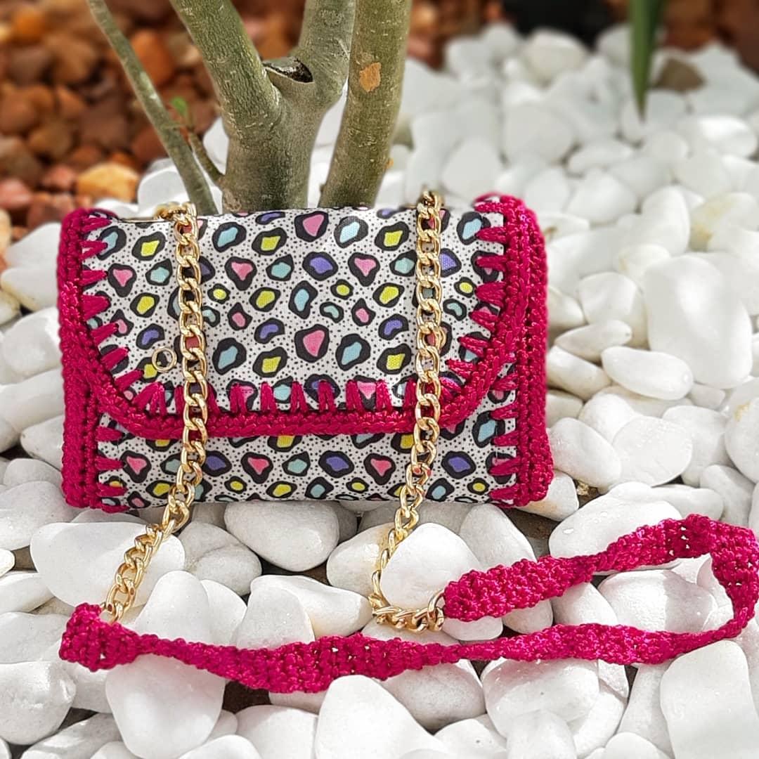 Na Produção E Confecção De Uma Peça Deve Bolsa - Crochet Tutorial