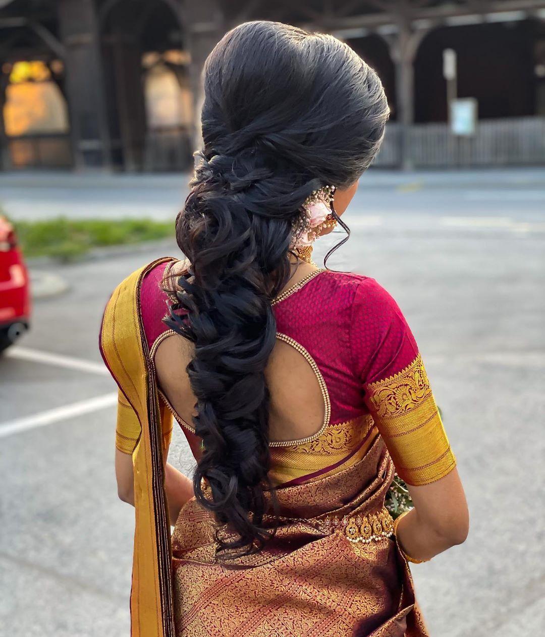 Messy Braid For My Bride Arthy 😍 Bride Bridal - Weddings
