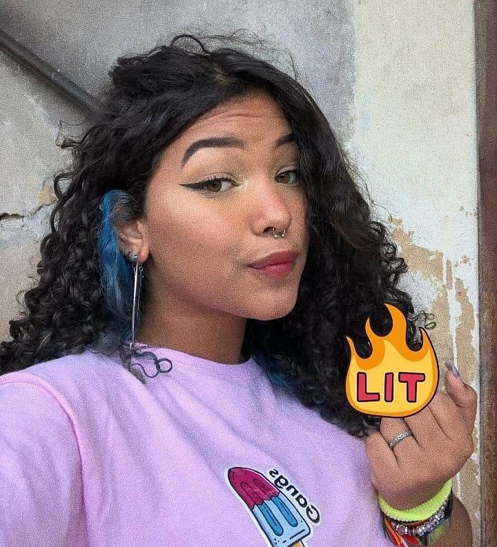 Ops 💆🏽♀️🔥 Comenta Roxo Letra Por Let - Makeup Tutorials