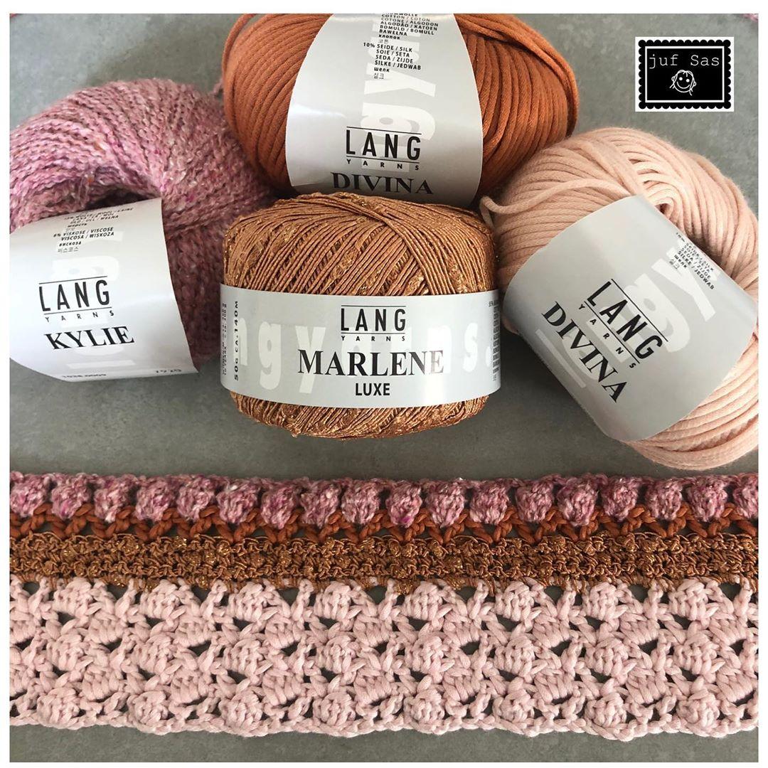 Eindelijk Eindelijk....Het Mooie Wol Lag Langyarns - Crochet Cardigan