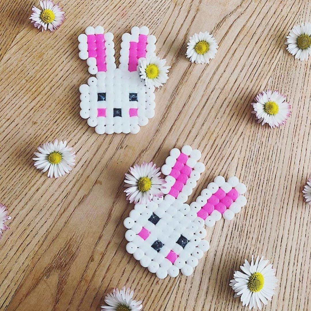 Bügelperlenhasen Von Kreativ Kiga 🐰😍 Kidscrafts - Kids Crafts
