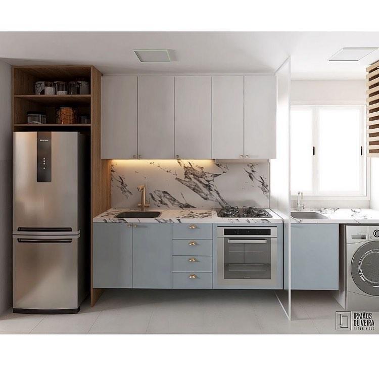 Cozinha Compacta E Cheia De Charme ♥️♥️♥️ Ap - Home Decor