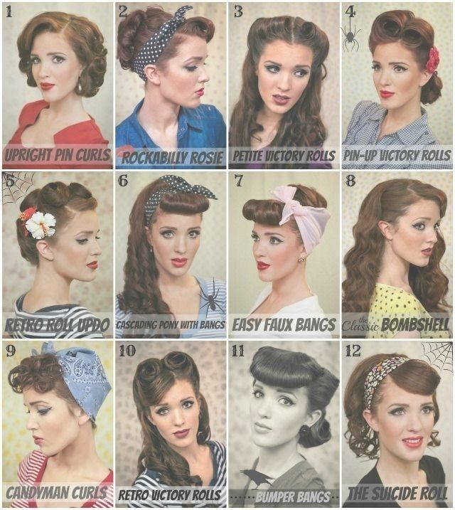 Which Is Your Favorite 50'S Hairstyle? . Hairstyle - Hair Styles