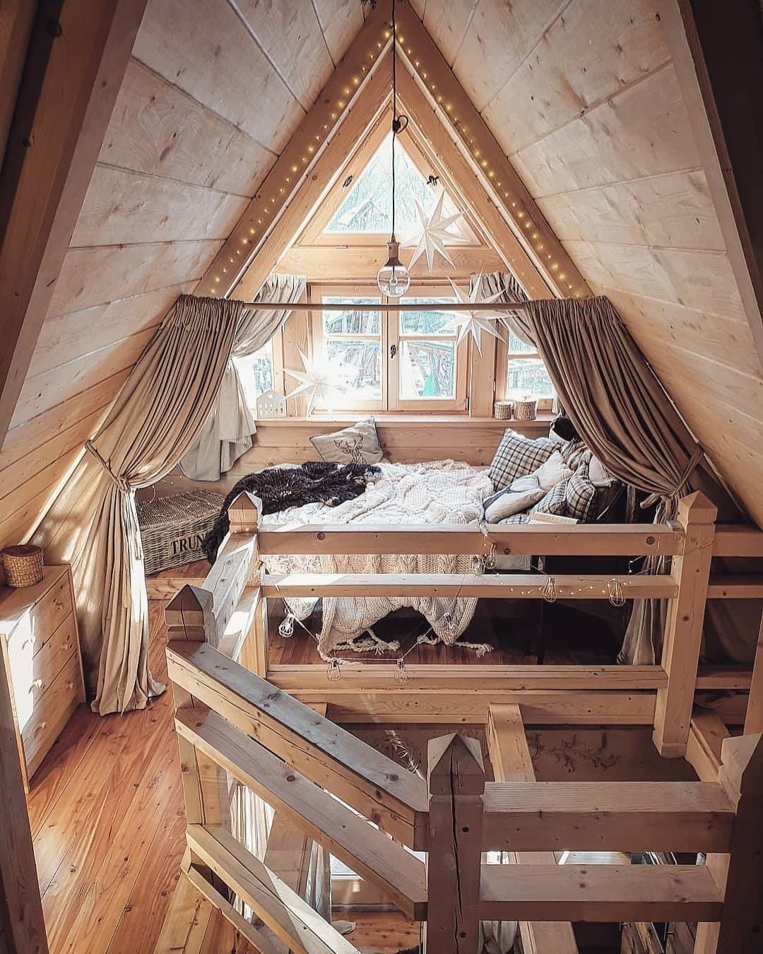 Amazing A-Frame Bedroom!😍 Yay Or Nay?💕 Dreambedroom - Home Decor
