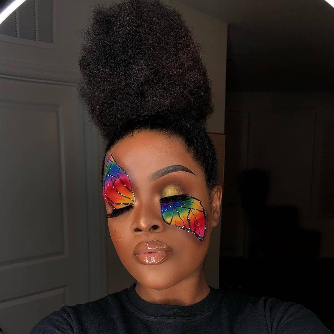 Follow Us Crazy.Makeups For More! 1,2 O - Makeup Ideas