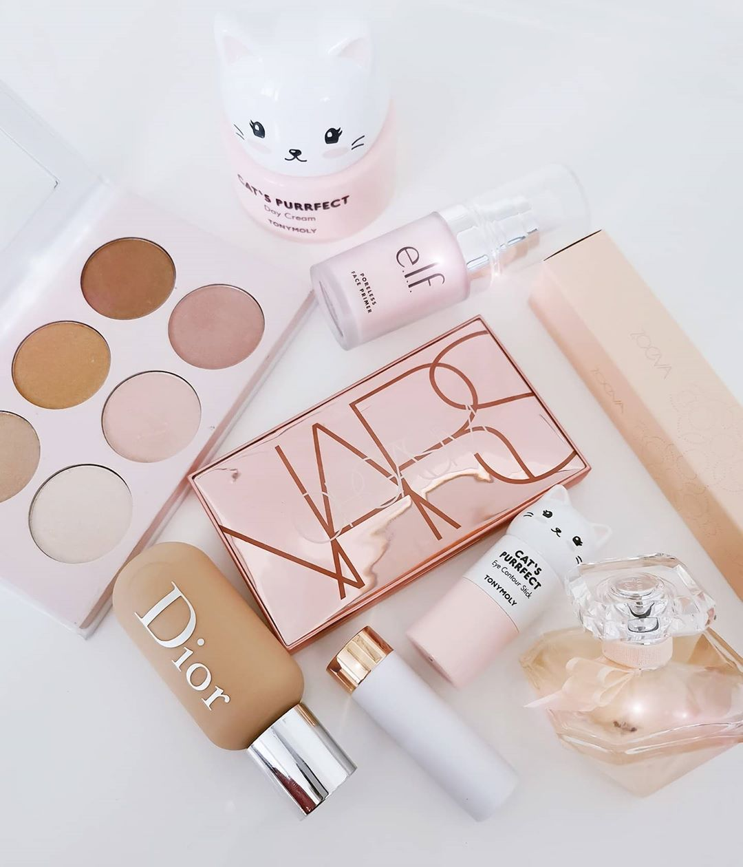 Still Obsessed With These Cute Tony Moly Makeupflatlay - Makeup Products