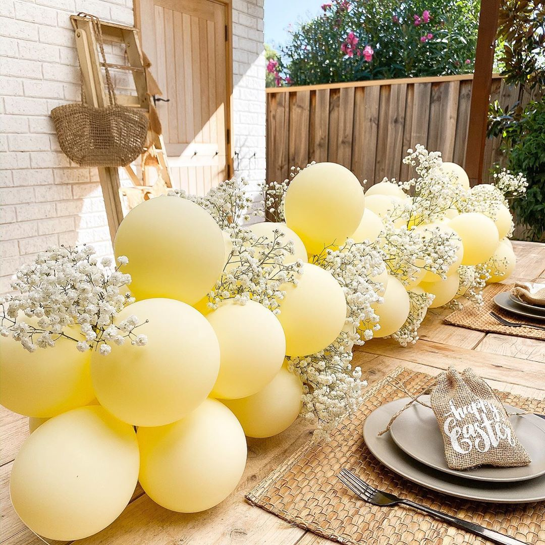 Diy Balloon Garland Kits   Thank You F - Diy Crafts