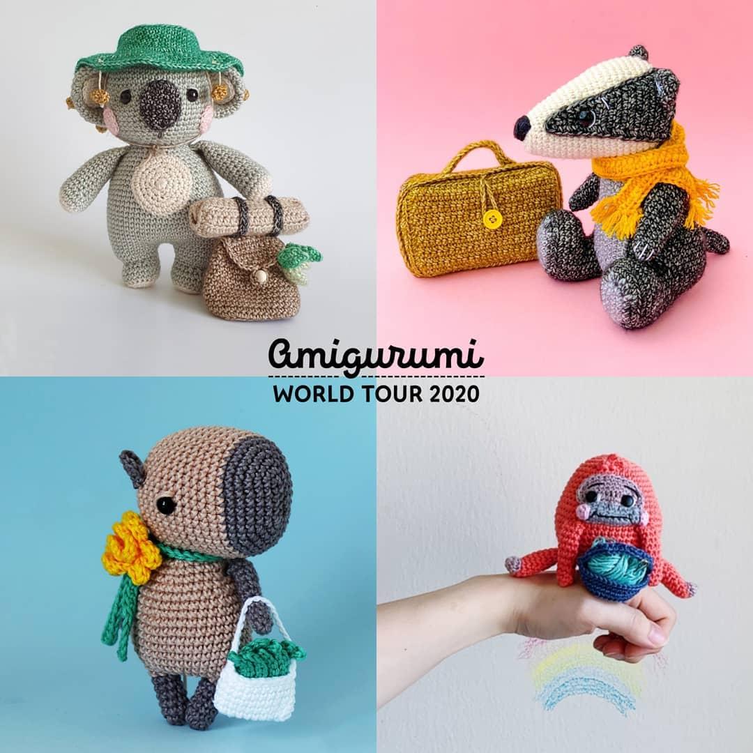[Pt   Eng] Clancy, O Coala Mochileiro, B Amigurumidesign - Crochet