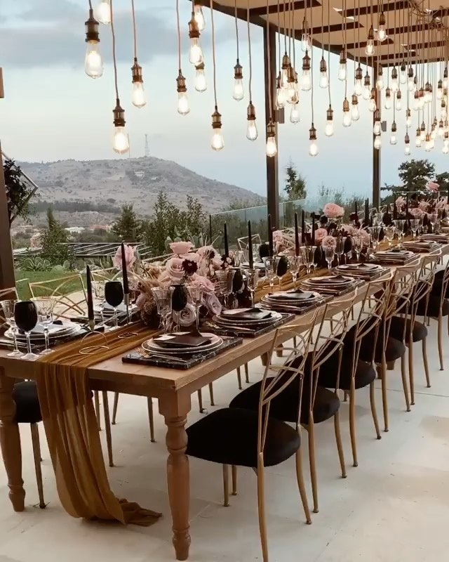 In Love With This Amazing Table Setting Wedding - Weddings