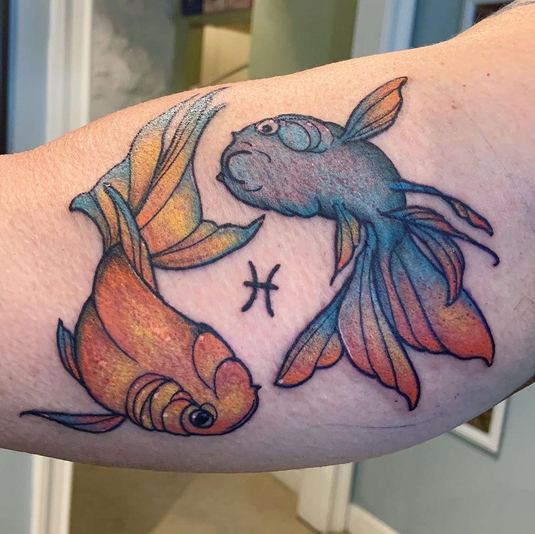 Pisces Tattoo For Eric . . . Tattoo T Tattoos - Tattoos