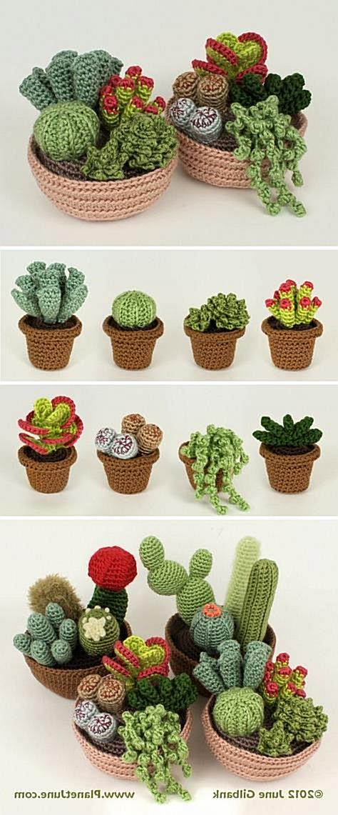 You will love this collection of Crochet Cactus Patterns and we have all the most popular ideas with lots of free patterns and vid