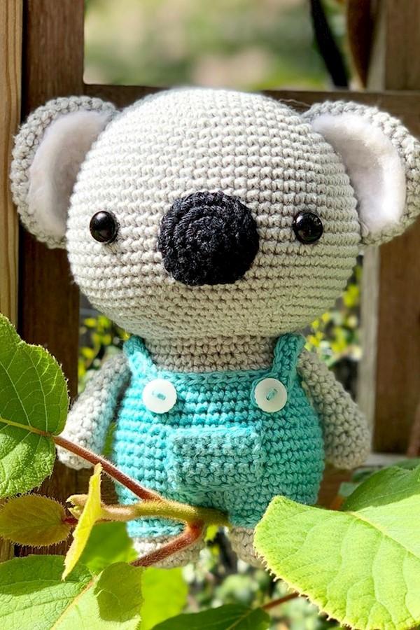 #AmiguruMay 14th [Fav pattern] I think Cute Koala is my favorite pattern. But it was hard to choose. Koji the dragon and Mr. Blue