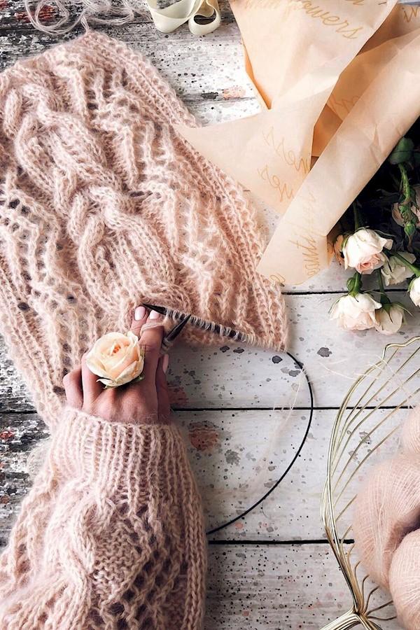Всем привет!!Удивительный расход пряжи на свитер Капри #sweater_capri - всего 14 мотков мохера на шелке в 4 сложения, когда закупи