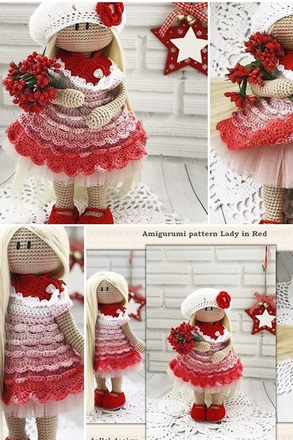 Free amigurumi doll crochet patterns #amigurumicrochet #amigurumi #socutecrochet #freepatternamigurumi #crochetamigurumi #crochet