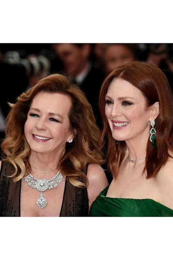 """Caroline Scheufele and Julianne Moore, wearing Chopard jewels attend the opening ceremony and screening of """"The Dead Don't Die"""" ⠀⠀"""