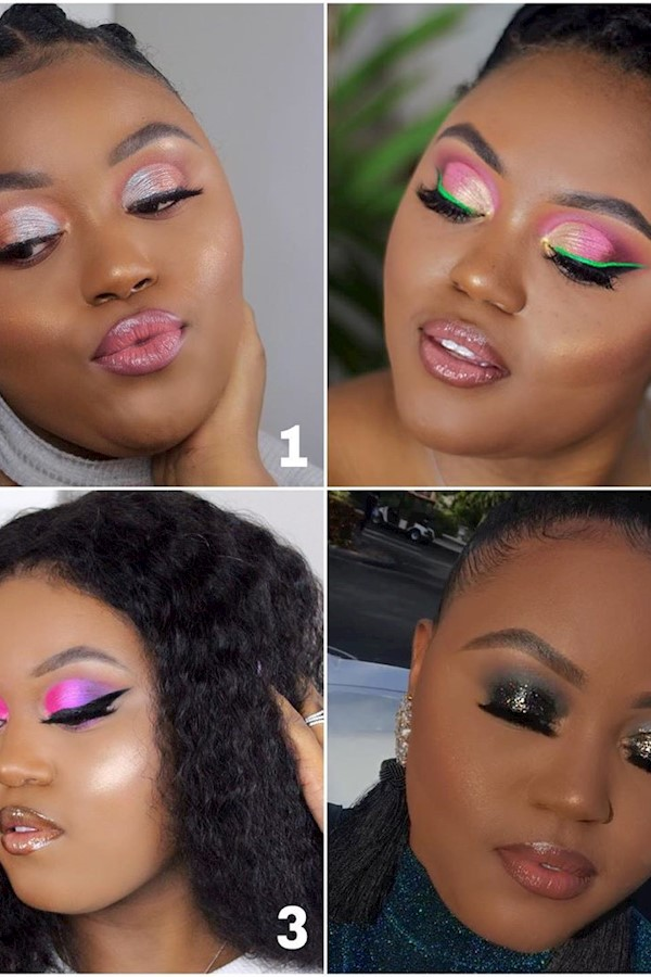What look do you love the most out of 1,2,3,4 💗 Let me know in the comments below 👇🏾