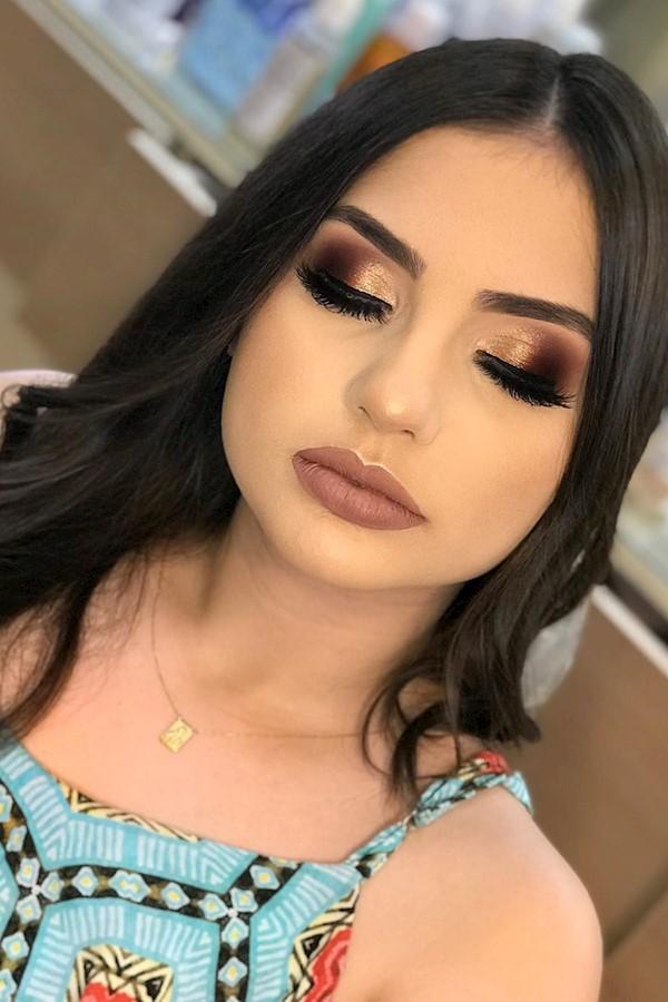 #makeup #maquiadoraporamor #makeiniciante #make #maquiadora #makeclássica #make2019 #loukasportutorial #loukadpormaquiagem❤ #maqui