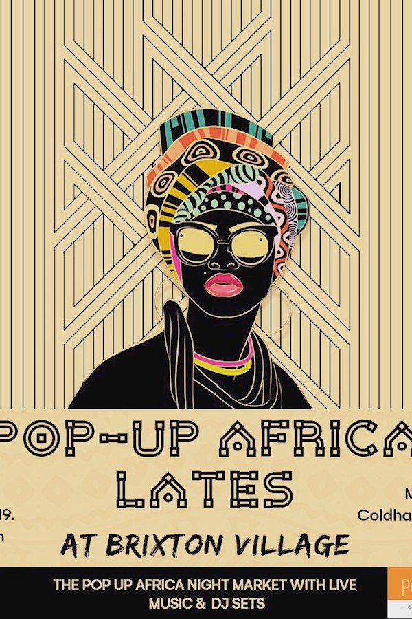 ✖️POP UP AFRICA LATES ✖️We're excited to launch our new series of Pop Up Africa Lates, our night time takeover of retail spaces in