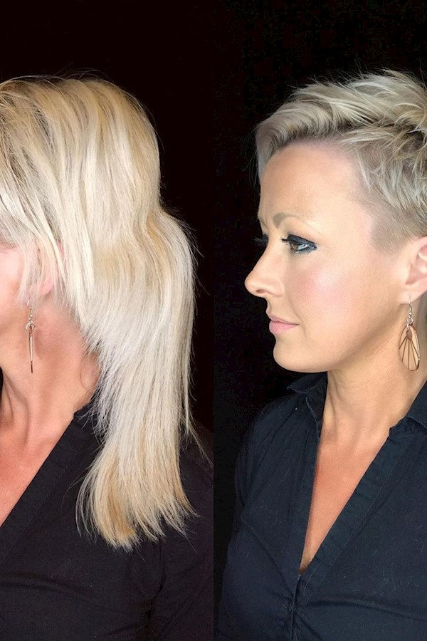 Transformation Tuesday!! Ever wonder what happens after a client goes for that huge makeover? Did they keep it? Grow it out? Well