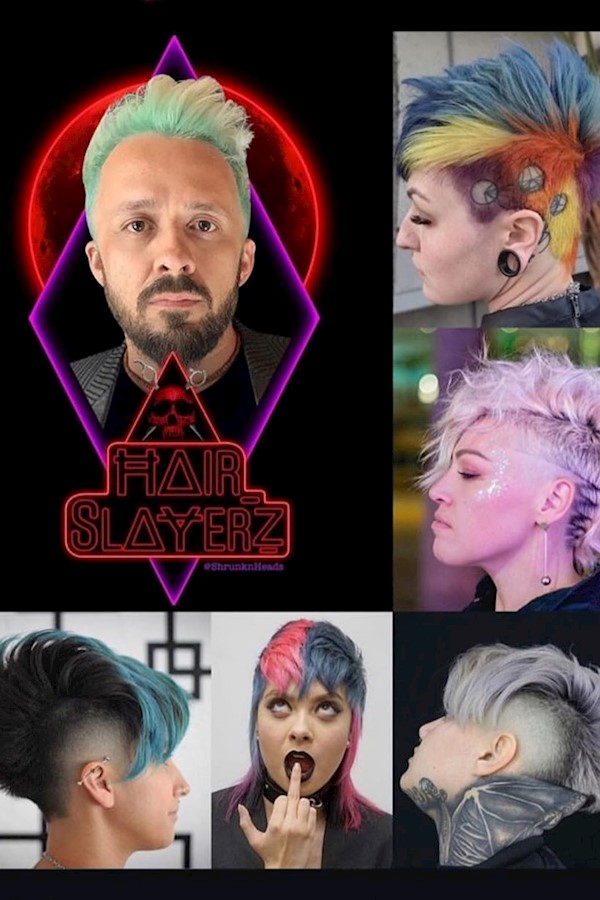 This is incredible!! I'm honored to be part of such a elite group of talented artists. Thank you, @hair_slayerz !!💥🤘🏼🔪🎨✂️🖤💯