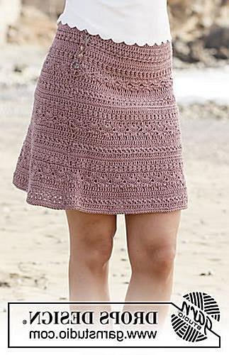 FREE CROCHET PATTERN! crochet skirt 190-28 Rosalina pattern by DROPS design