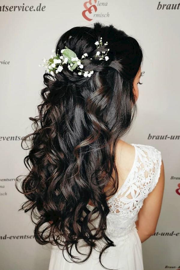 💕So einfach und doch so schön 💕. ......................................................................#beautifulhair #hairtextu