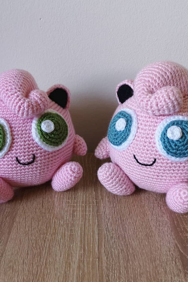 Shiny jigglypuff is finished and listed in my Etsy shop!!