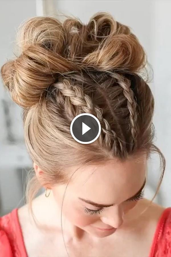 Stunning Braided Hairstyle By Missysueb Braidedponytail - Hairstyles For Girls