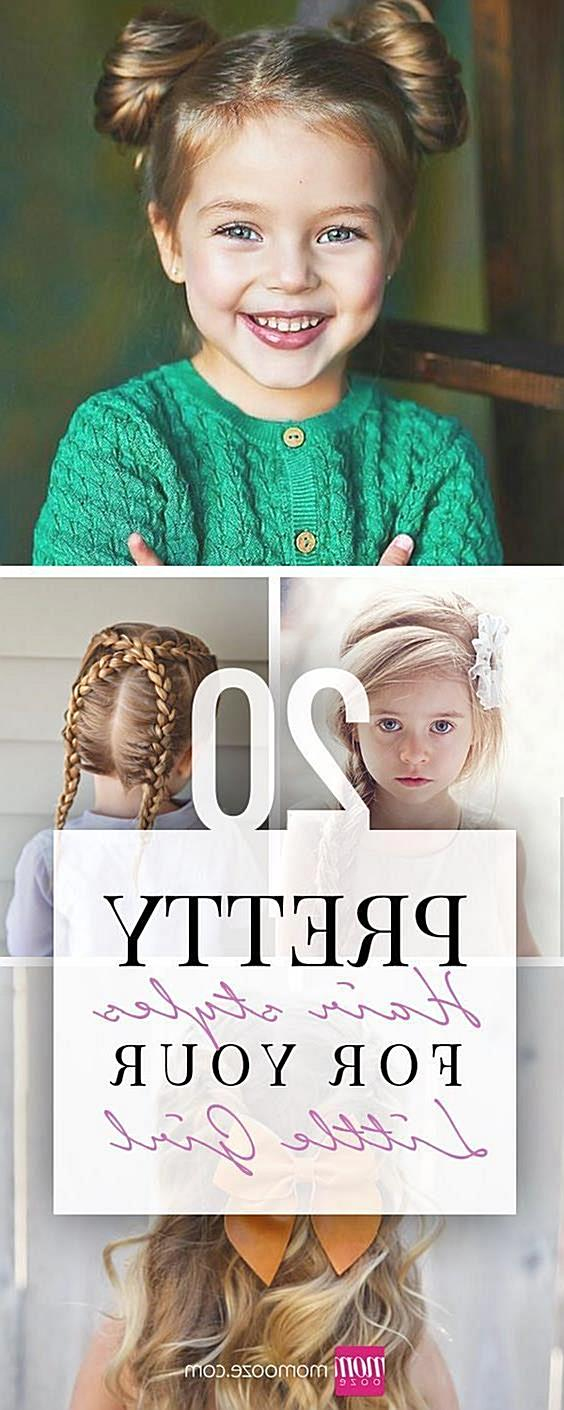 20 Pretty Hairstyles for your Little Girl Turn your little lady into a princess using one of these 20 pretty hairstyles made for l