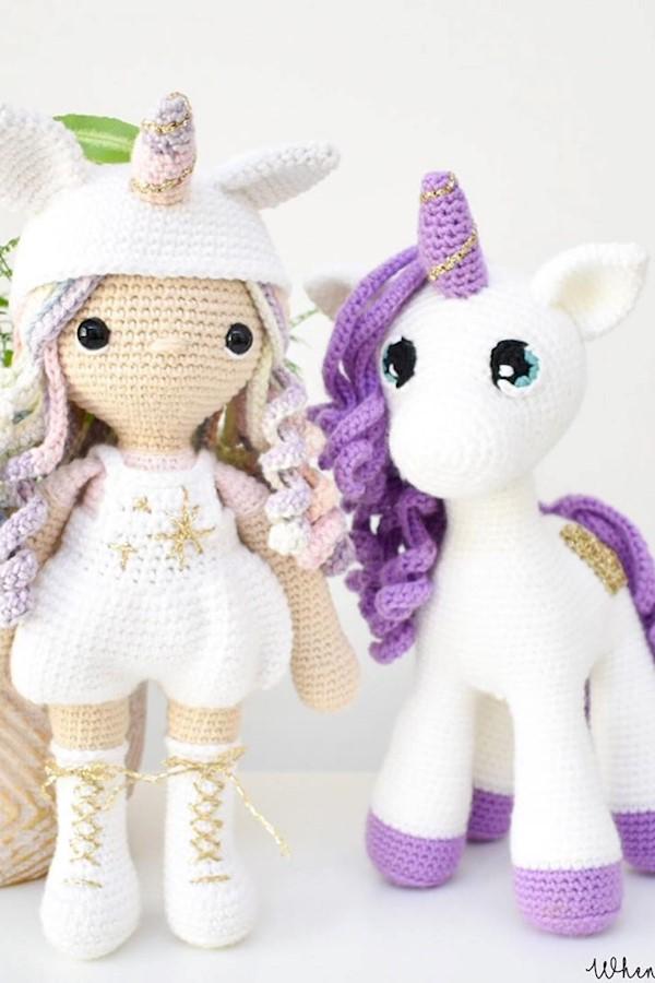 Doll STELLA Crochet Pattern - Amigurumi Doll STELLA Tutorial ... | 900x600