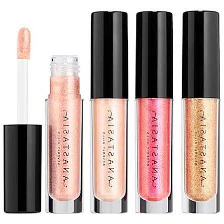 ANASTASIA BEVERLY HILLS Lip Gloss Set Mini: A set of fully-pigmented, weightless lip glosses in lustrous finishes. Free of sulfate