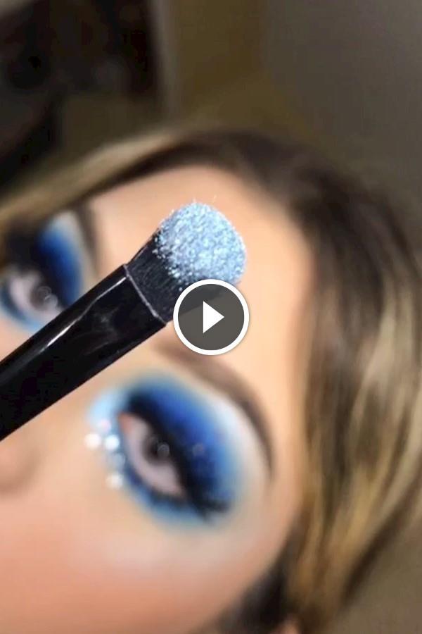 Starry Eyes 🤩🦋 (Follow Makeupxsteff F Slayandblend - Makeup For Beginners