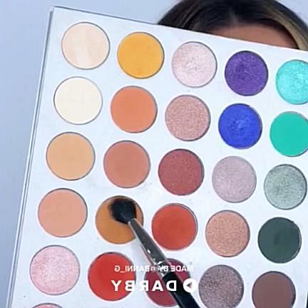 How to create a look with Morphe Brushes palette #beauty #makeup #darbysmart