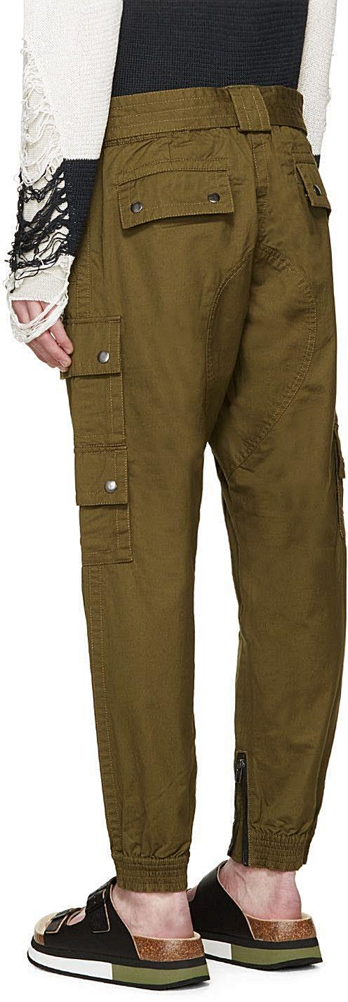 Diesel Green Sly Cargo Pants